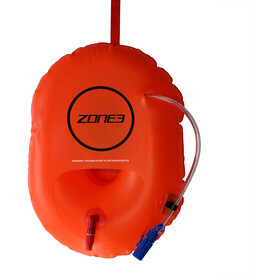 Zone3 Swim Safety Buoy/Hydration Control hi-vis orange